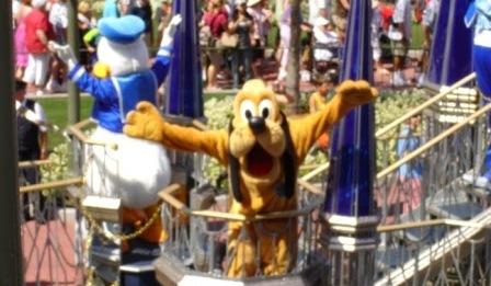 Disney World Magic Kingdom Pluto