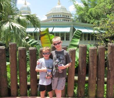 Disney World Magic Kingdom Crystal Palace
