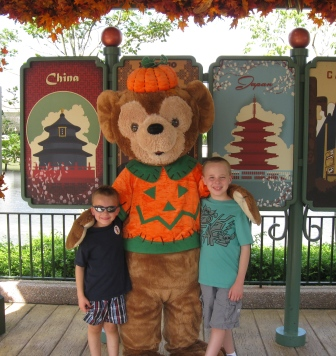 Disney World Epcot World Showcase Duffy Meeting