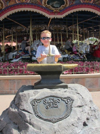 Disney World Magic Kingdom Sword In The Stone
