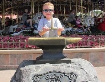 Disney World Magic Kingdom Sword In The Stone