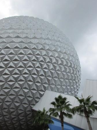 Disney World Epcot Spaceship Earth