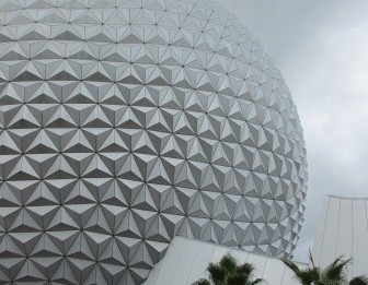 Disney World Epcot Spaceship Earth