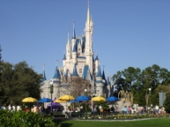 Disney World Magic Kingdom Cinderella Castle