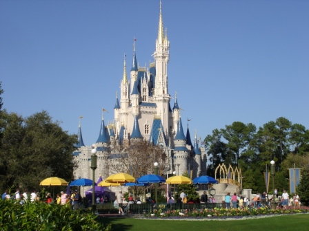 Disney World Magic Kingdom Cinderella Castle