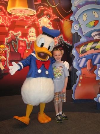 Disney World Epcot Donald Duck