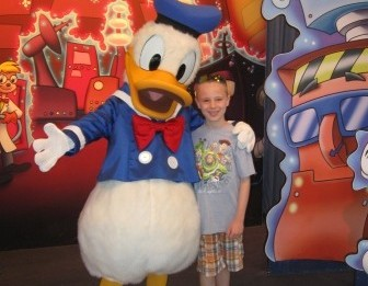 Disney World Epcot Donald Duck