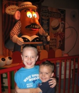 Disney World Hollywood Studios Mr Potato Head