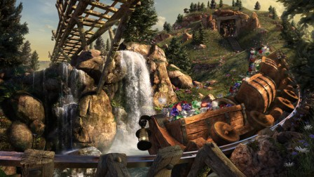 Disney World Magic Kingdom Seven Dwarfs Mine Train