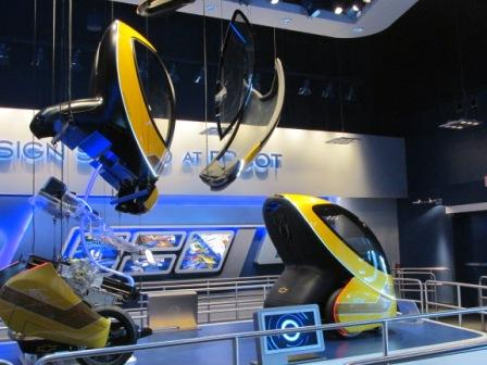 Disney World Epcot Test Track
