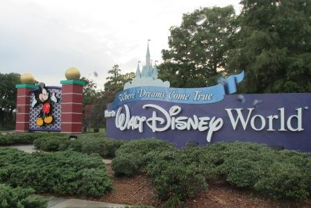 Walt Disney World Sign