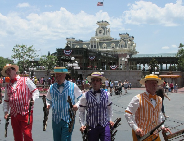 Disney World Magic Kingdom Dapper Dans