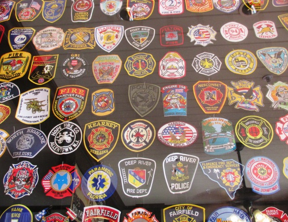 Main Street Fire Station Patches