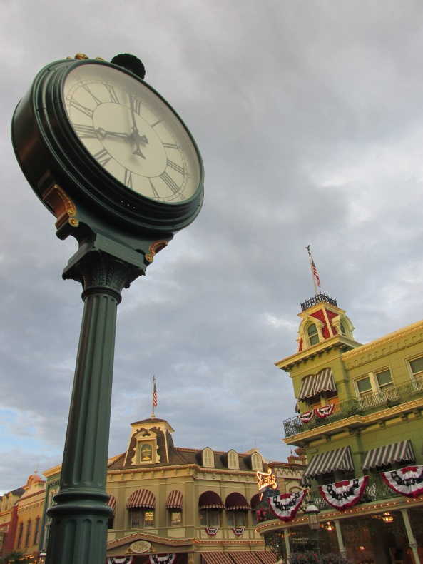 Magic Kingdom Clock