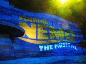 Disney World Finding Nemo The Musical Sign