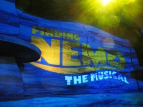 Disney World Finding Nemo The Musical Sign