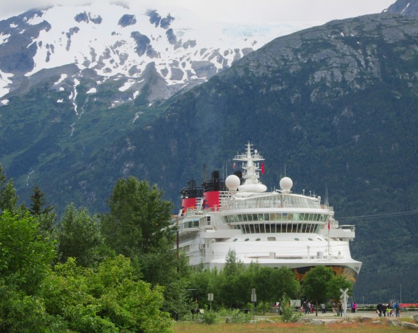 Disney Wonder Skagway Port