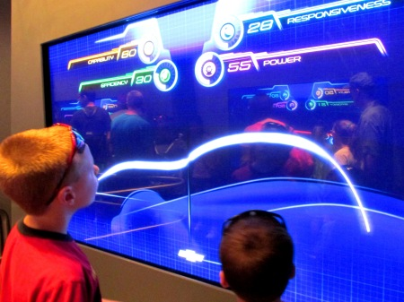 Epcot Test Track