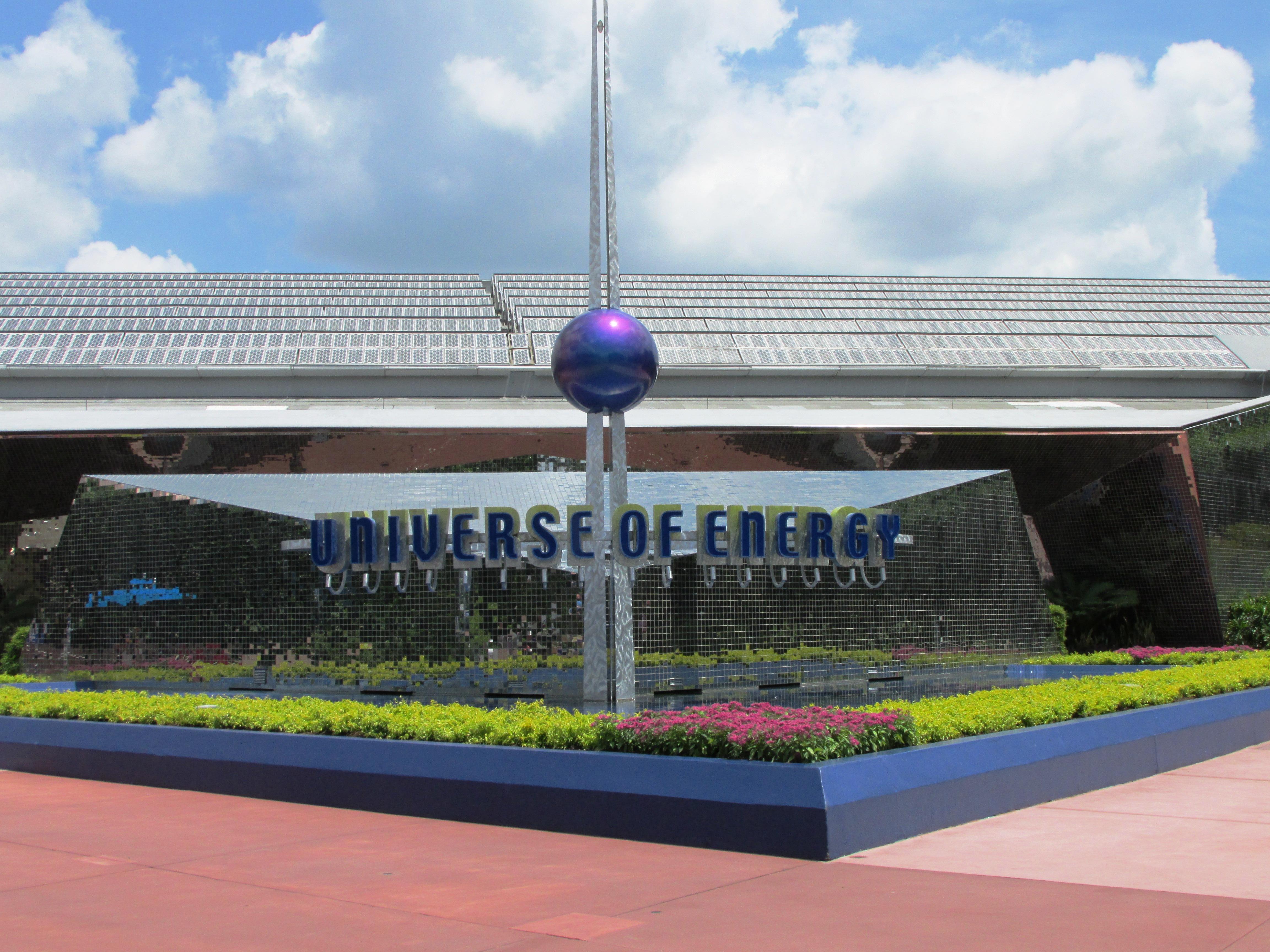 Daily Dose Of Disney Universe Of Energy Disney World