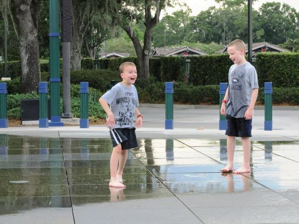 Disney World Splash Zones