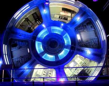 Epcot Mission Space Gravity Wheel