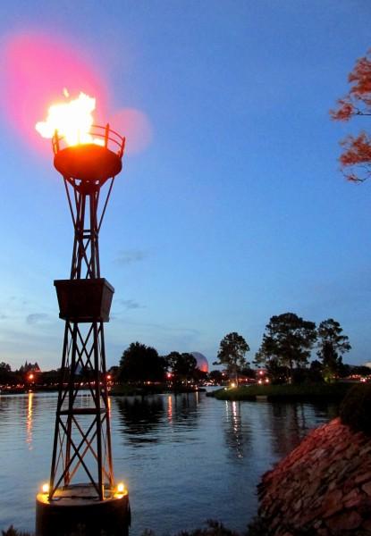 Disney World Lighting
