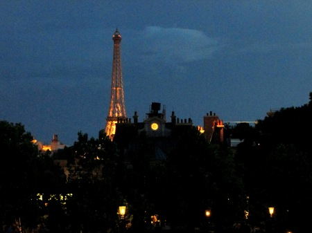 Epcot France Pavilion Eiffel Tower