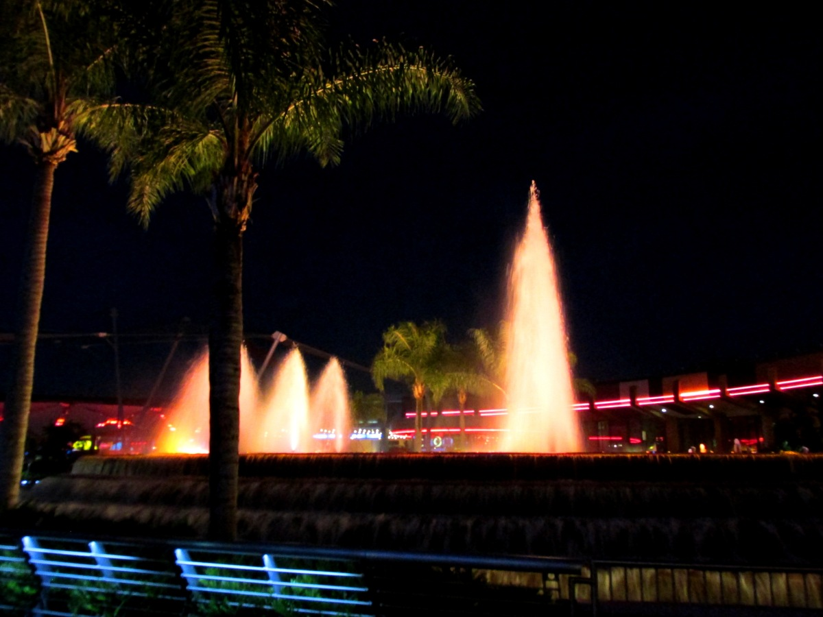 Epcot's World Fellowship Fountain