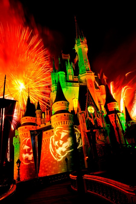 Happy HalloWishes Fireworks Show ©Disney