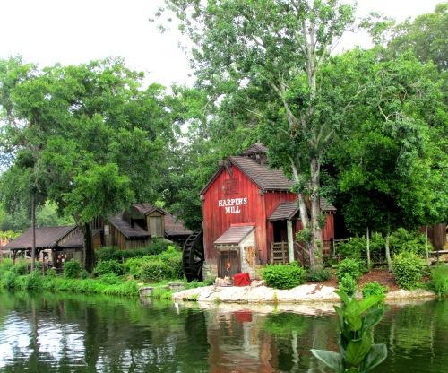 Harper's Mill on Tom Sawyer Island