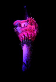 Tangled Tower At Night