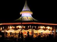 Magic Kingdom Carrousel At Night