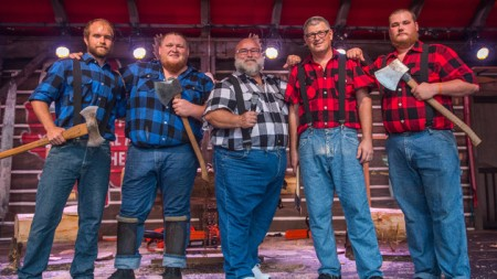 Canadian Lumberjack Show Epcot