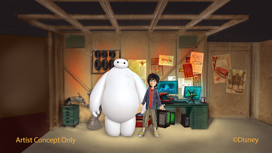 Big Hero 6 Meet and Greet