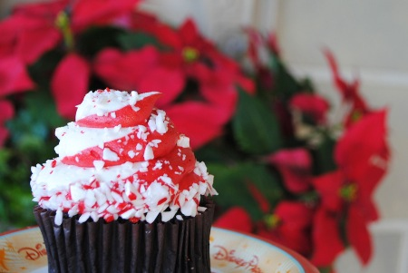 Candy Cane Cupcake