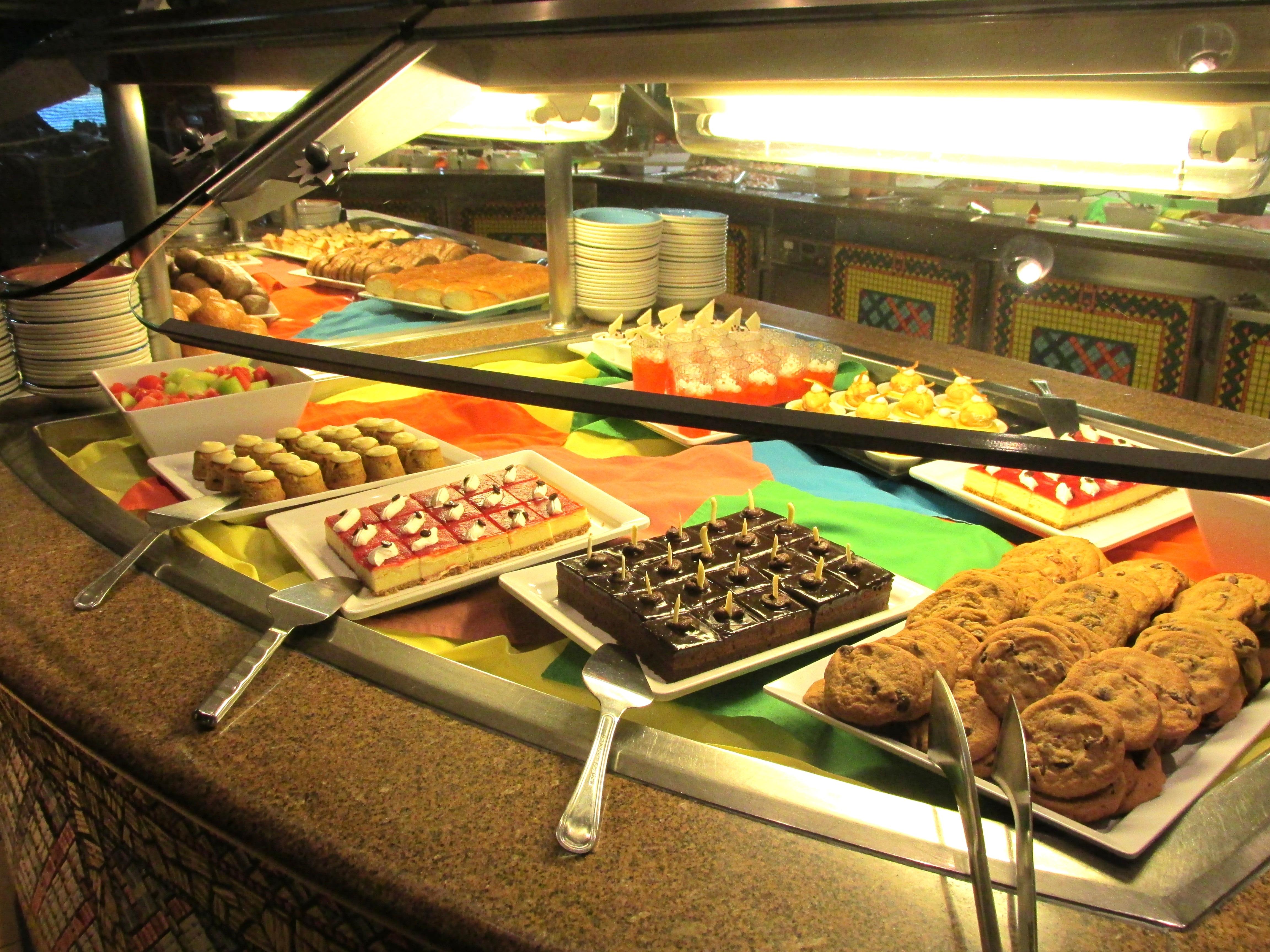 Touringplans Desserts Aboard The Disney Wonder Disney