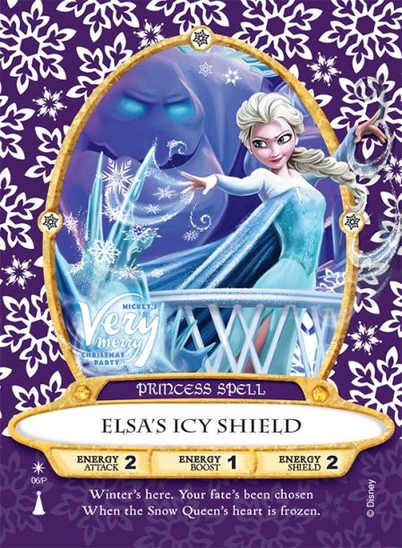 Elsa Sorcerers Card