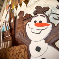 Frozen Gingerbread Castle