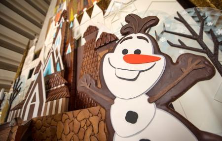 Frozen Gingerbread Castle
