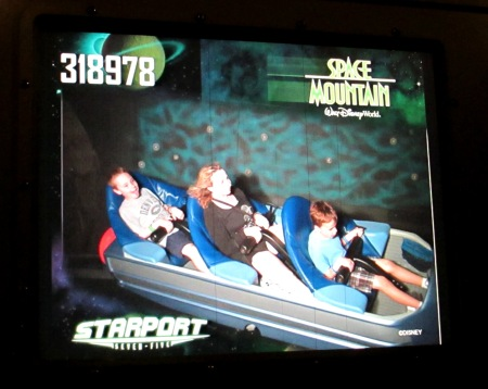 Space Mountain Photo Pass