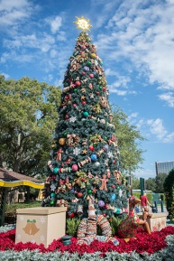 Downtown Disney Christmas Tree