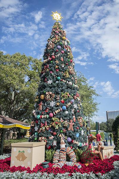Downtown Disney Christmas Tree