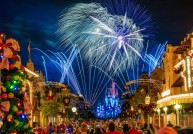 Magic Kingdom Holiday Fireworks