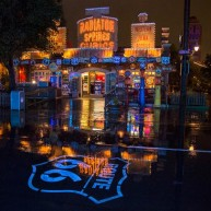 Carsland At Night