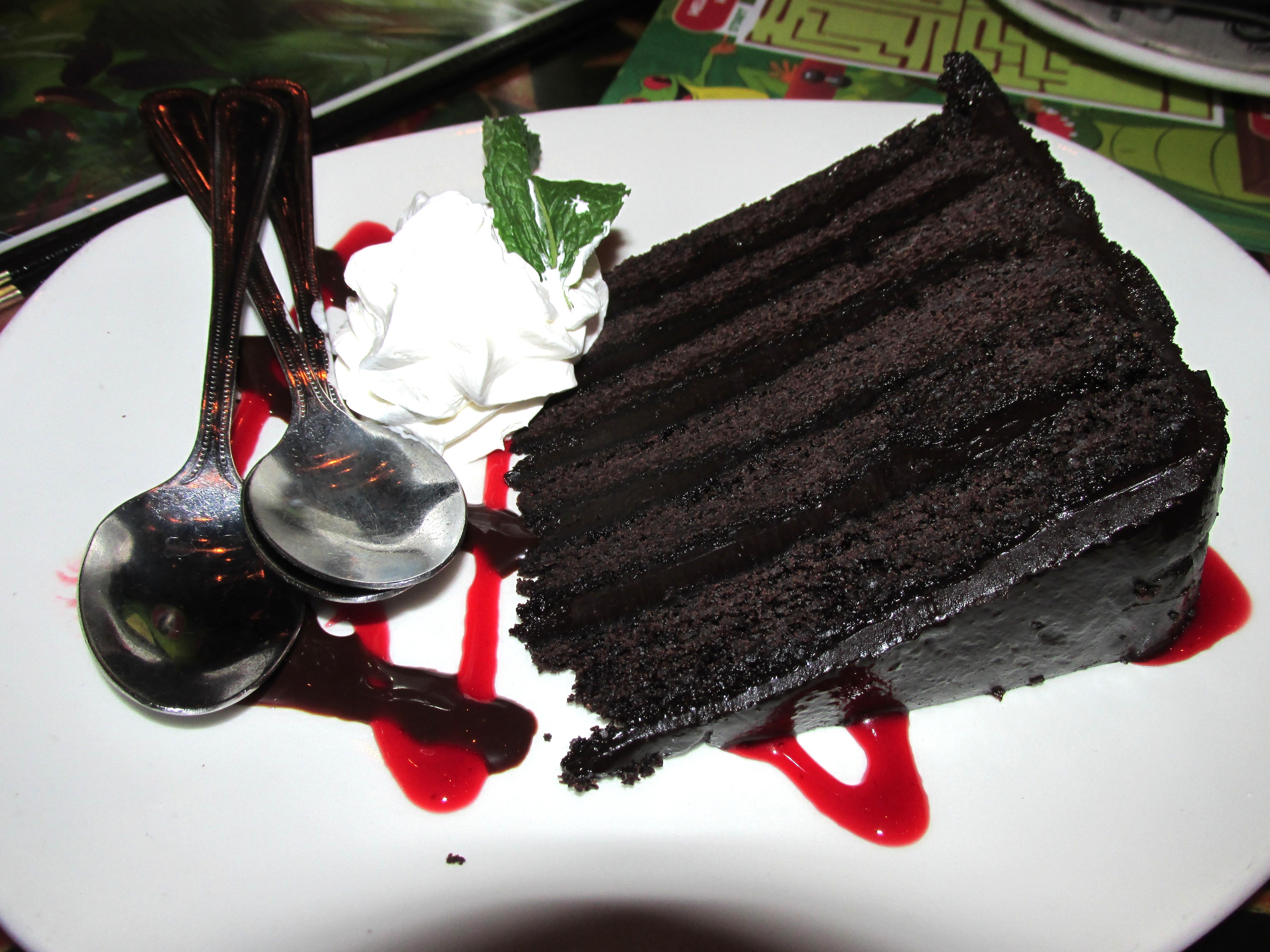 Chocolate Diablo Cake Rainforest Cafe