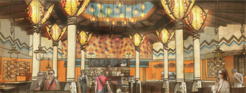 Animal Kingdom Starbucks
