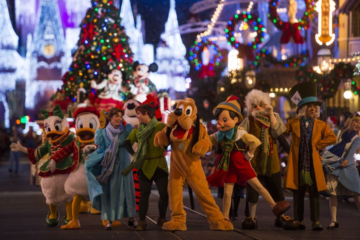 christmas - Disney Christmas Party