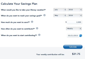 Disney Vacation Account