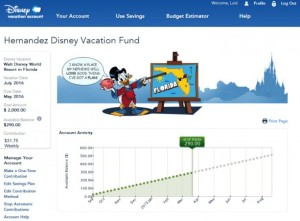 Disney Vacation Account