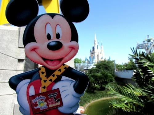 Flat Mickey